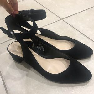 NWT Nine West NW7Babes Black Suede Pumps